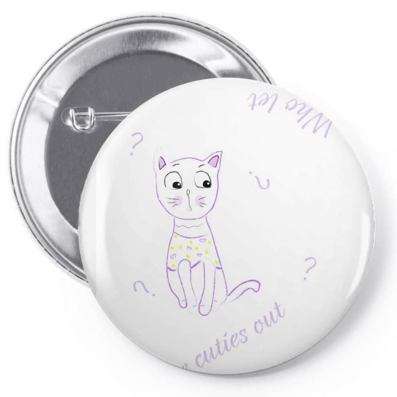 Cat Tshirt Pin-back Button   Artistshot