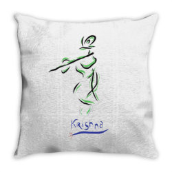 Krishna Throw Pillow | Artistshot