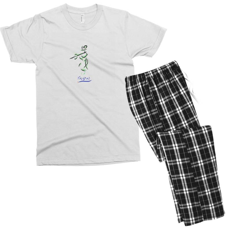 Krishna Men's T-shirt Pajama Set | Artistshot