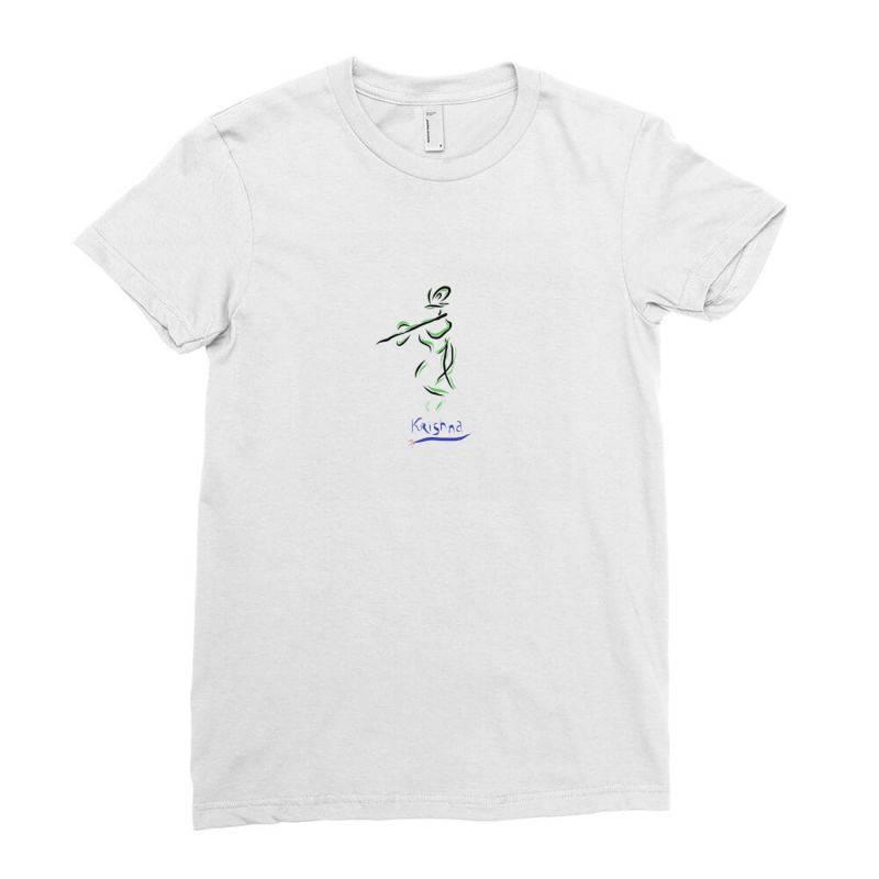 Krishna Ladies Fitted T-shirt | Artistshot
