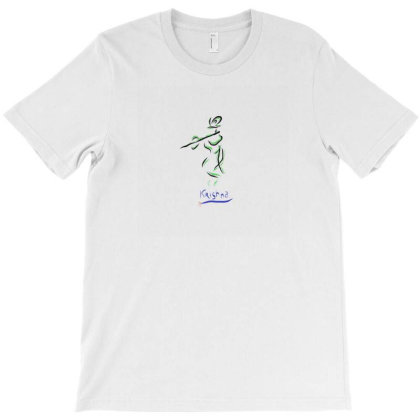 Krishna T-shirt Designed By Pon Design