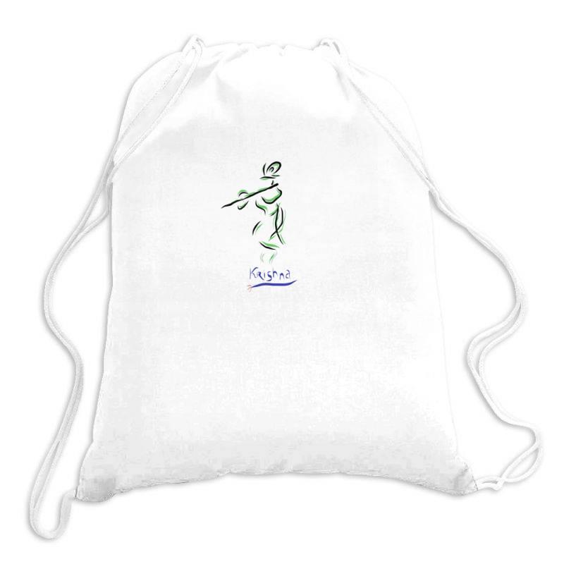 Krishna Drawstring Bags | Artistshot