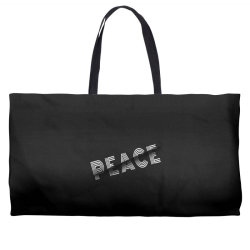 Sliced peace Weekender Totes | Artistshot