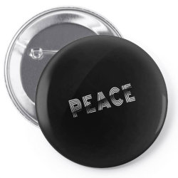 Sliced peace Pin-back button | Artistshot