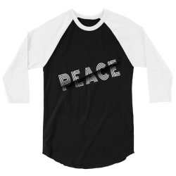 Sliced peace 3/4 Sleeve Shirt | Artistshot