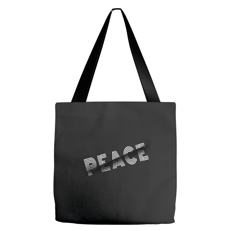 Sliced Peace Tote Bags | Artistshot