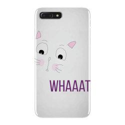 cat whaaat iPhone 7 Plus Case | Artistshot