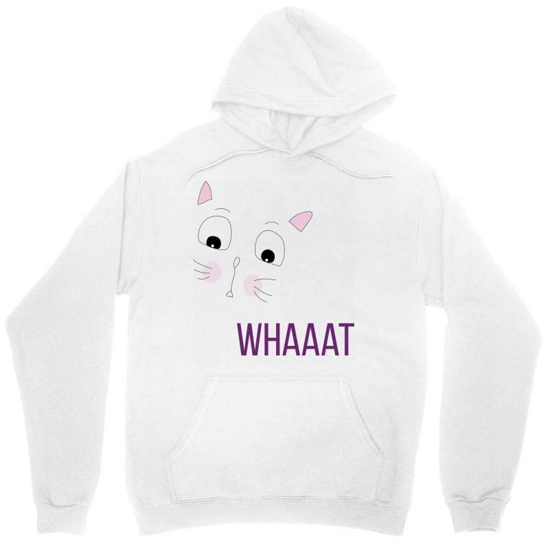 Cat Whaaat Unisex Hoodie | Artistshot