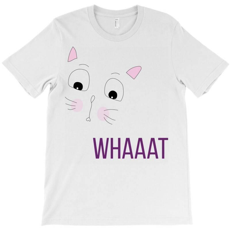 Cat Whaaat T-shirt | Artistshot
