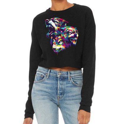 Unleash The Beast Cropped Sweater Designed By Nyuwunsewu