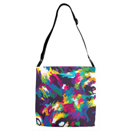 Unleash The Beast Adjustable Strap Totes Designed By Nyuwunsewu