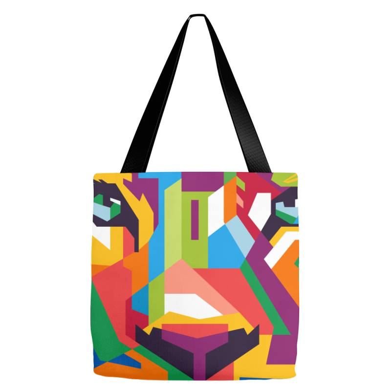 Face Of The King Tote Bags | Artistshot