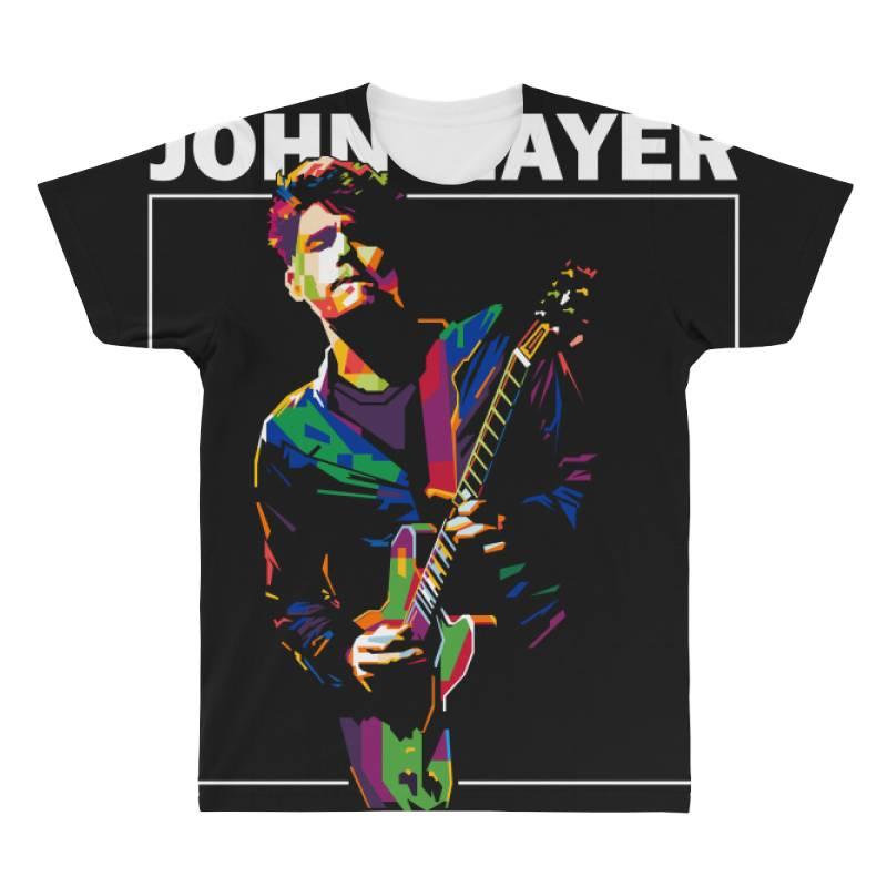 John Mayer All Over Men's T-shirt | Artistshot