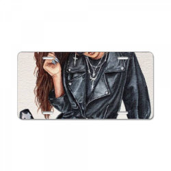 Girl License Plate | Artistshot