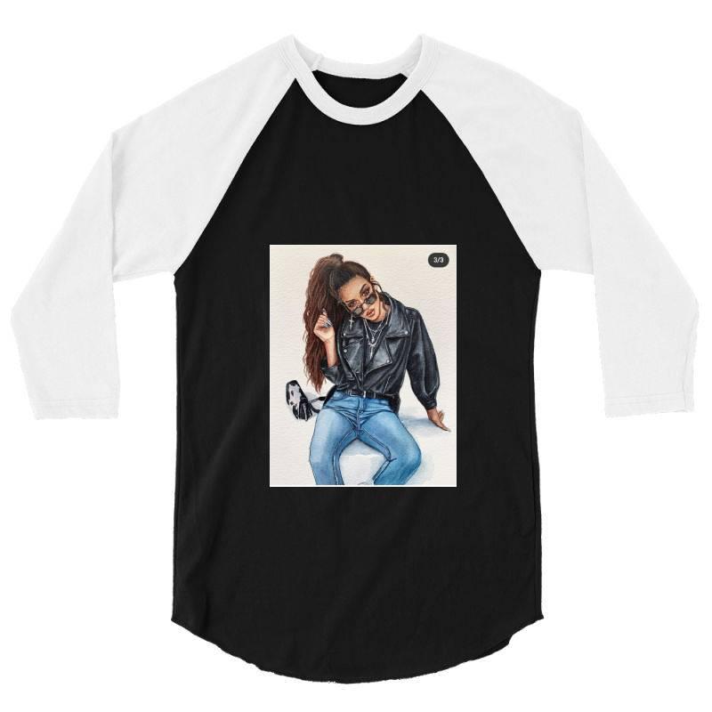 Girl 3/4 Sleeve Shirt | Artistshot