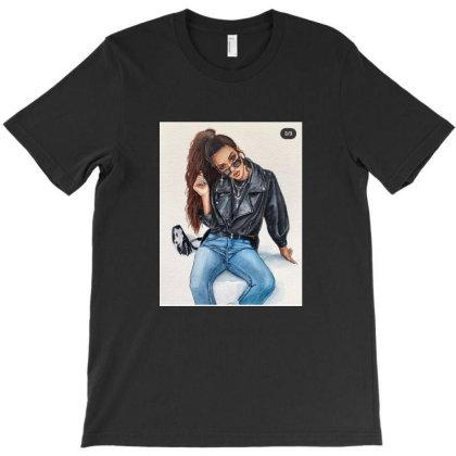 Girl T-shirt Designed By Mapra