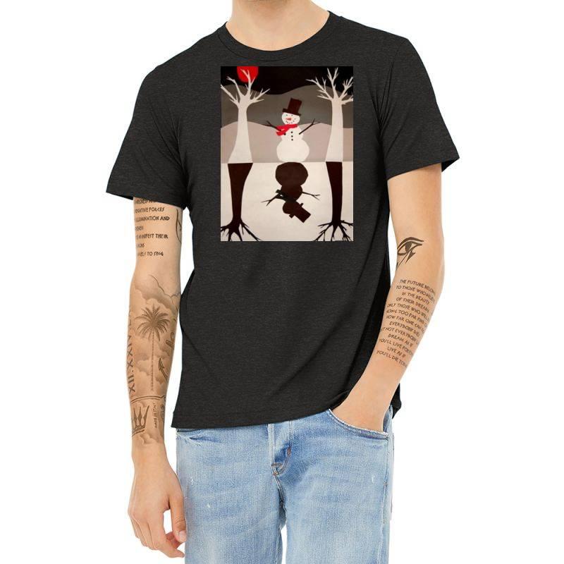 Snowman Heather T-shirt | Artistshot