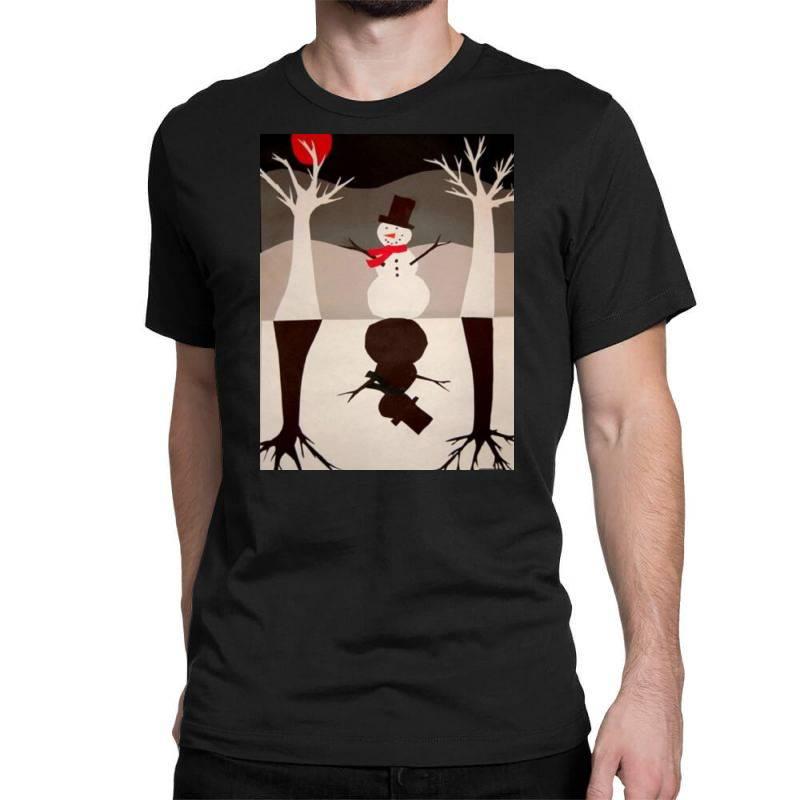 Snowman Classic T-shirt | Artistshot