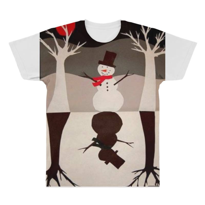 Snowman All Over Men's T-shirt | Artistshot