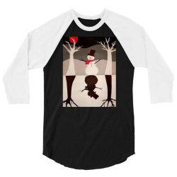 Snowman 3/4 Sleeve Shirt | Artistshot