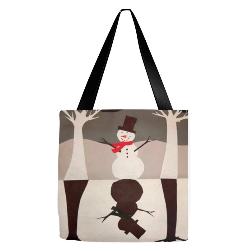 Snowman Tote Bags   Artistshot
