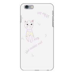 cat tshirt iPhone 6 Plus/6s Plus Case | Artistshot