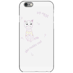 cat tshirt iPhone 6/6s Case | Artistshot