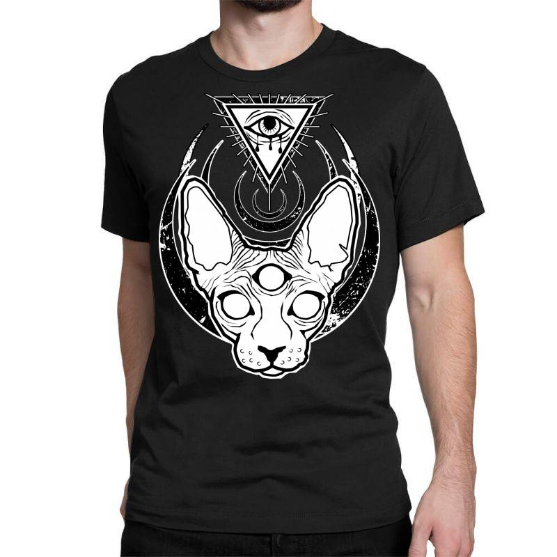 All Seeing Sphynx Classic T-shirt | Artistshot