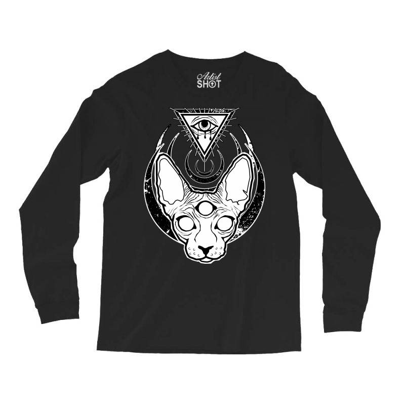 All Seeing Sphynx Long Sleeve Shirts | Artistshot