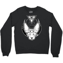 All Seeing Sphynx Crewneck Sweatshirt | Artistshot