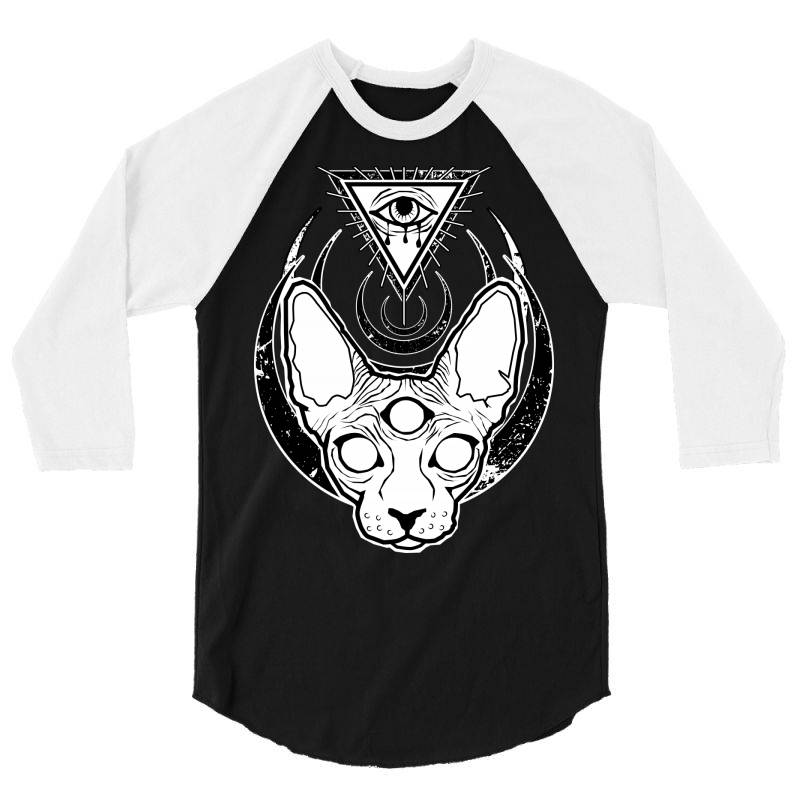 All Seeing Sphynx 3/4 Sleeve Shirt | Artistshot