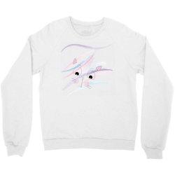 cute cat face t-shirt Crewneck Sweatshirt | Artistshot