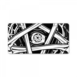 Inverted Bonetagram License Plate   Artistshot