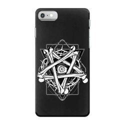 Inverted Bonetagram iPhone 7 Case   Artistshot