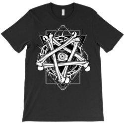 Inverted Bonetagram T-Shirt   Artistshot