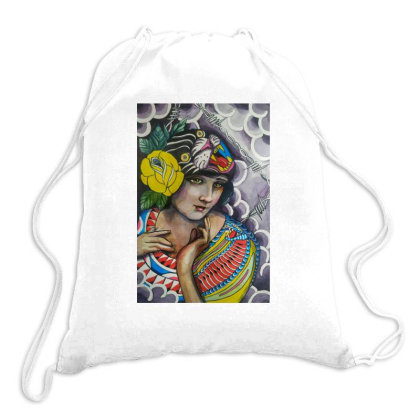 Mujer Cobra Drawstring Bags Designed By Pablo Dzg