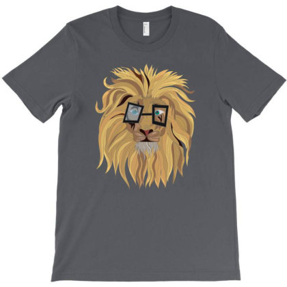 Innocent Lion T-shirt Designed By Rococodesigns