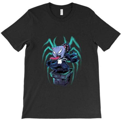 Venom Kitty T-shirt Designed By Spoilerinc
