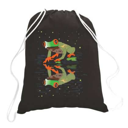 Frog Drawstring Bags Designed By Rococodesigns