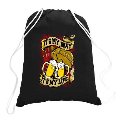 My Passion Drawstring Bags Designed By Spoilerinc