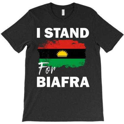 I Stand For Biafra T-shirt Designed By Cogentprint