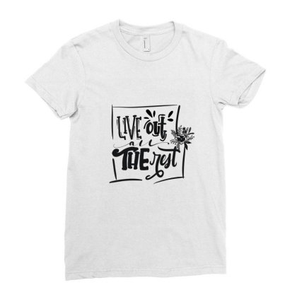 Linkin Park Verse Ladies Fitted T-shirt Designed By Q & T