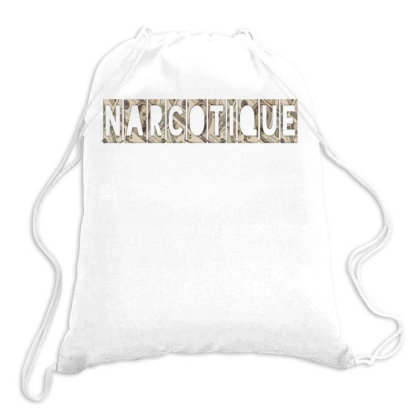 Narcotique Drawstring Bags Designed By Dav
