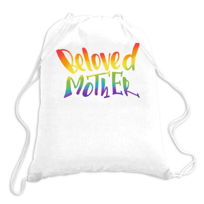 Beloved Mother Drawstring Bags Designed By Q & T