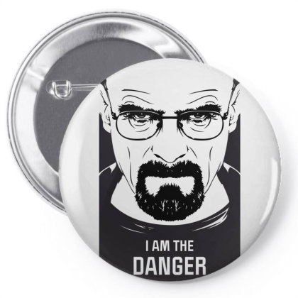 I Am The Danger Pin-back Button Designed By Estore