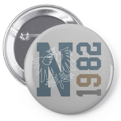 N 1982 Pin-back Button Designed By Estore