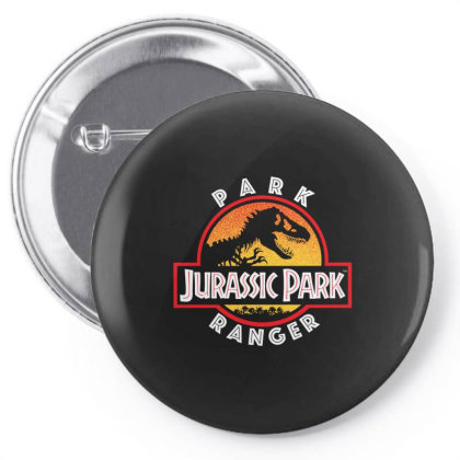 Jurassic Park Circle Park Ranger Gifts Pin-back Button Designed By Liquegifts