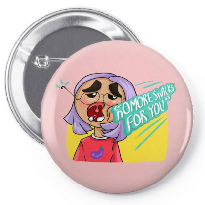 Snack Punch Pin-back Button Designed By Manatee_papa