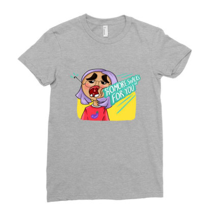 Snack Punch Ladies Fitted T-shirt Designed By Manatee_papa