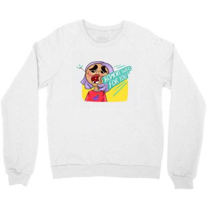 Snack Punch Crewneck Sweatshirt Designed By Manatee_papa